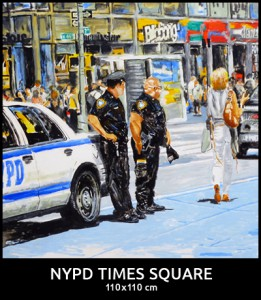 Times Square NYPD