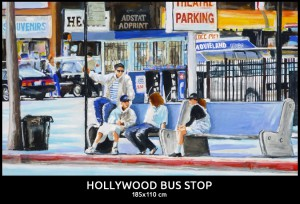 Hollywood Bus Stop