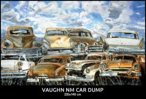 Vaughn NM Car Dump