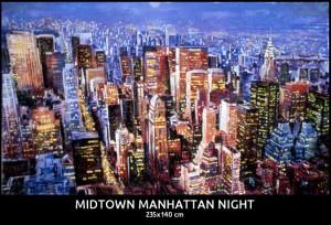 Midtown Manhattan Night